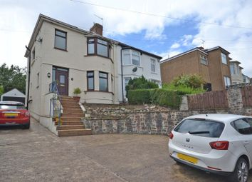 Thumbnail 3 bed semi-detached house for sale in Extended House, Glasllwch Crescent, Newport