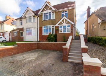 Thumbnail 4 bed semi-detached house for sale in Segrave Crescent, Folkestone