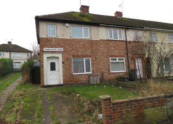 Thumbnail 2 bedroom end terrace house for sale in Thurcaston Road, Leicester