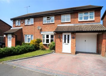 Thumbnail 4 bedroom semi-detached house for sale in Saunders Close, Northfleet, Gravesend