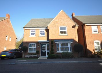 Thumbnail 4 bed detached house for sale in Brickhill Way, Calvert, Buckingham