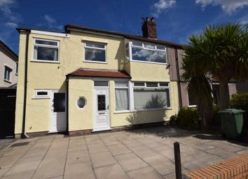Thumbnail 4 bed semi-detached house for sale in Lynton Drive, Bebington, Wirral