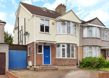 Thumbnail 4 bed semi-detached house for sale in Drummond Drive, Stanmore, Middlesex