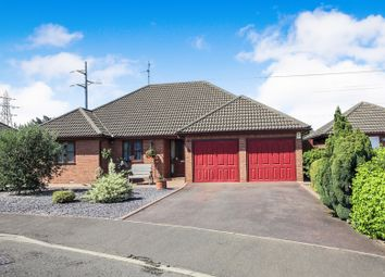 Thumbnail 3 bed detached bungalow for sale in Riverside Mead, Stanground, Peterborough