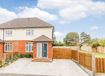 Thumbnail 4 bed semi-detached house for sale in Glebe Road, Crondall, Farnham