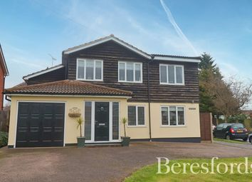 Thumbnail 4 bed detached house for sale in Wyatts Green Road, Wyatts Green, Brentwood, Essex