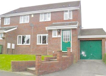 Thumbnail 3 bedroom semi-detached house to rent in Cae Cadno, Church Village, Pontypridd