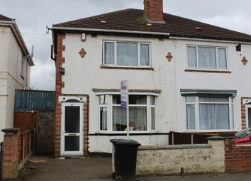 Thumbnail 3 bed semi-detached house for sale in Purley Road, Belgrave, Leicester