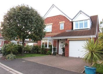Thumbnail 4 bedroom detached house for sale in Coxley Court, Rossington, Doncaster