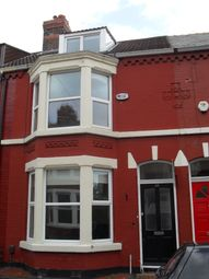 Thumbnail 4 bed terraced house to rent in Sunbourne Road, Aigburth, Liverpool 17