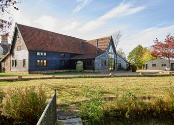 Thumbnail 4 bed barn conversion for sale in Low Road, Alburgh, Harleston
