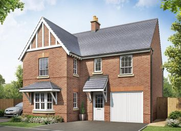 "Thumbnail 4 bedroom detached house for sale in ""Halstead"" at Beggars Lane, Leicester Forest East, Leicester"