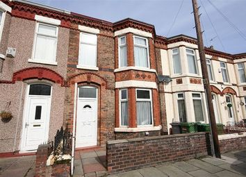 Thumbnail 3 bed terraced house to rent in Rappart Road, Wallasey