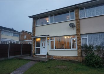 Thumbnail 3 bedroom semi-detached house for sale in Fairfield Crescent, Leigh-On-Sea