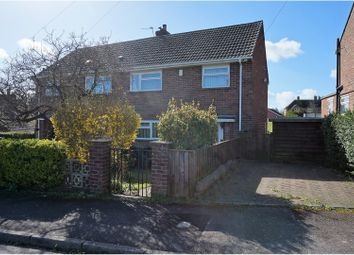 Thumbnail 2 bed semi-detached house for sale in Hopsfield, Blandford Forum
