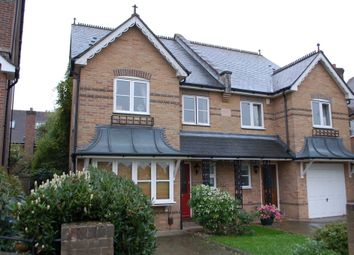 Thumbnail 4 bed semi-detached house for sale in Gander Green Crescent, Hampton