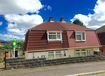 Thumbnail 2 bedroom semi-detached house for sale in Lon Heddwch, Clydach, Swansea