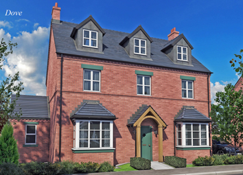 Thumbnail 5 bed detached house for sale in The Dove, Burton Road Tutbury, Staffordshire