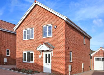 Thumbnail 4 bed detached house for sale in Meadowlands, Wrentham, Beccles