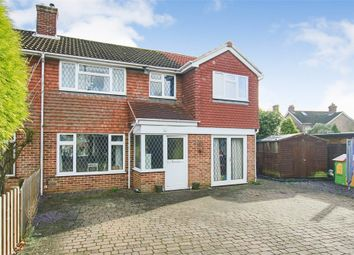 Thumbnail 4 bed semi-detached house for sale in Dormans Park Road, East Grinstead, West Sussex