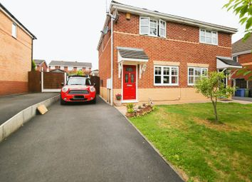 Thumbnail 3 bed semi-detached house for sale in Bransfield Close, Hawkley Hall, Wigan