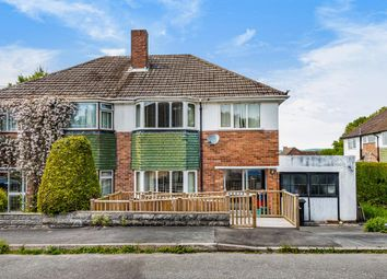 Thumbnail 3 bed semi-detached house for sale in Grosvenor Close, Llandrindod Wells