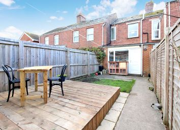 Thumbnail 2 bedroom terraced house for sale in Cross View, Alphington, Exeter