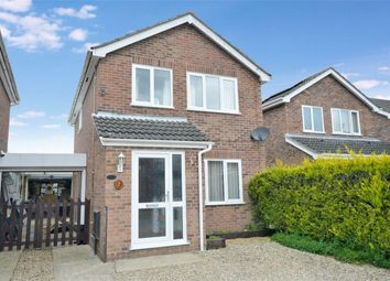 Thumbnail 3 bed detached house for sale in Cowslip Close, Mulbarton, Norwich