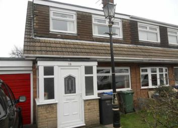 Thumbnail 3 bed semi-detached bungalow for sale in Taylor Road, Hindley Green, Wigan