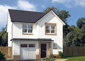 "Thumbnail 4 bed detached house for sale in ""The Ashbury"" at Castlehill Crescent, Ferniegair, Hamilton"