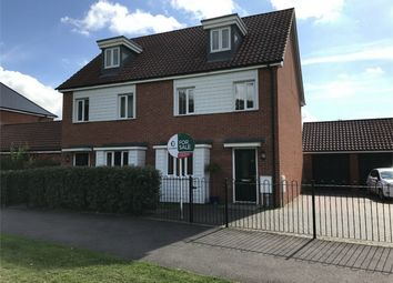 Thumbnail 3 bedroom semi-detached house for sale in Brentwood, Eaton, Norwich