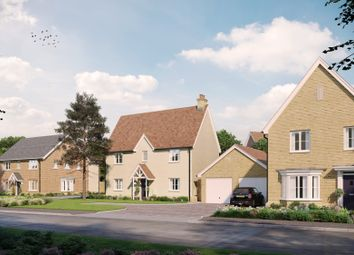 Thumbnail 4 bed detached house for sale in Gardiners Park, Basildon, Essex