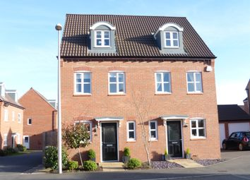 Thumbnail 3 bed semi-detached house for sale in Ryknield Road, Hucknall, Nottingham