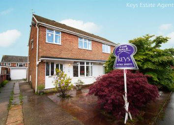 Thumbnail 3 bed semi-detached house for sale in Elmwood Drive, Blythe Bridge, Stoke-On-Trent
