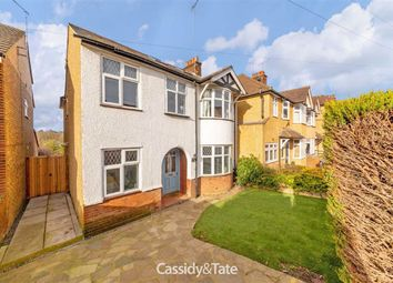 Thumbnail 4 bed detached house for sale in Langley Crescent, St. Albans, Hertfordshire