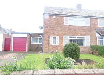 Thumbnail 3 bed semi-detached house for sale in Acorn Avenue, Bedlington
