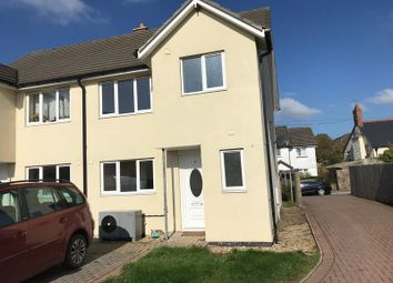 Thumbnail 3 bed semi-detached house for sale in Fore Street, North Tawton