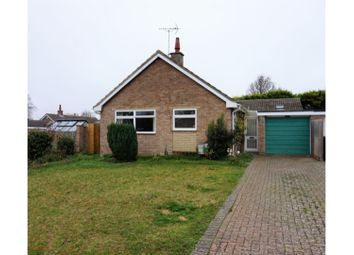 Thumbnail 3 bed detached bungalow for sale in Poplars Close, Burwell, Cambridge
