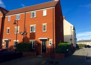 Thumbnail 4 bed end terrace house for sale in Zakopane Road, Swindon