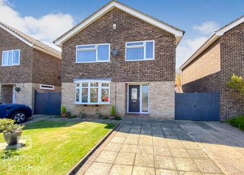 Thumbnail 4 bed detached house for sale in Wrenningham Road, Old Catton, Norwich