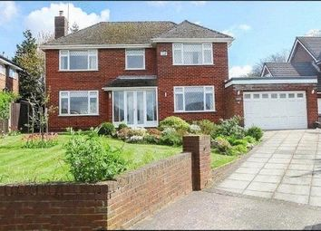 Thumbnail 3 bed detached house for sale in Baroncroft Road, Woolton, Liverpool