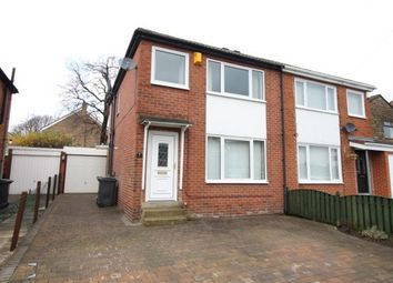 Thumbnail 3 bed semi-detached house for sale in Uppermoor Close, Pudsey