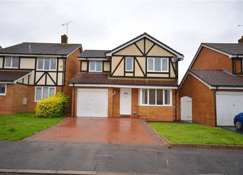 Thumbnail 4 bedroom detached house for sale in Arkwright Drive, Bracknell, Berkshire