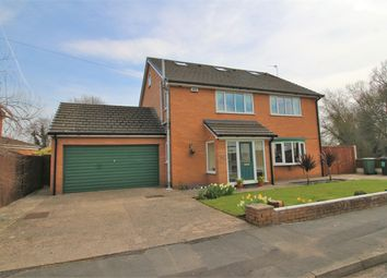 Thumbnail 6 bed detached house for sale in Links Avenue, Little Sutton, Cheshire