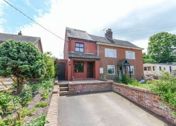 Thumbnail 3 bedroom semi-detached house for sale in Longford, Market Drayton