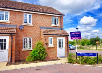 Thumbnail 3 bed end terrace house for sale in St. Mawgan Street, Kingsway, Gloucester