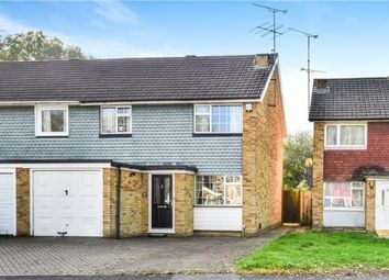 Thumbnail 3 bed semi-detached house for sale in Weybridge Mead, Yateley, Hampshire