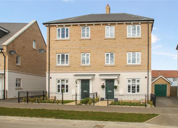 Thumbnail 4 bed semi-detached house for sale in Brooke Way, Stowmarket, Stowmarket
