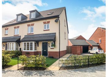 Thumbnail 4 bed semi-detached house for sale in Heron Way, Nantwich