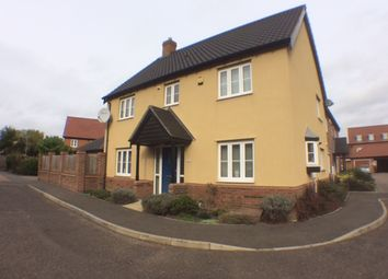 Thumbnail 4 bed detached house to rent in Cranes Croft Road, Norwich